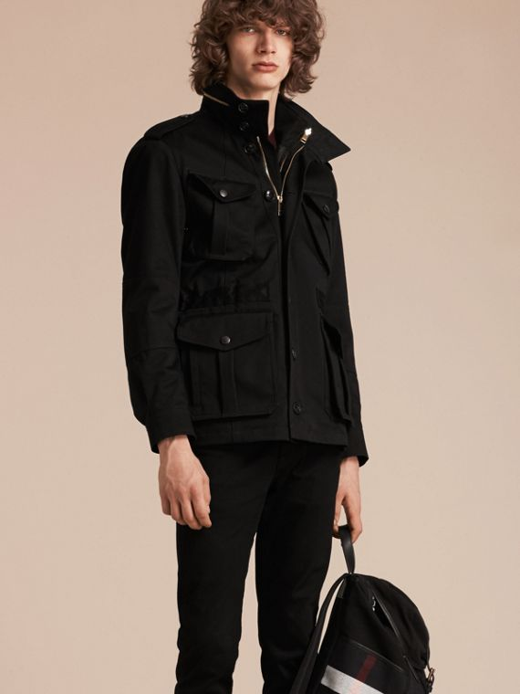Bonded Cotton Field Jacket with Detachable Inner Jacket