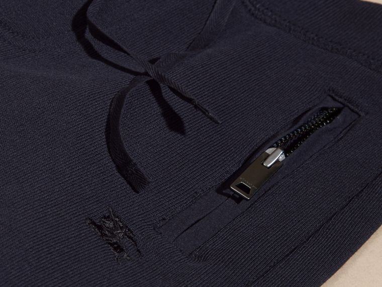Dark navy Cotton Sweat Pants Dark Navy - cell image 1