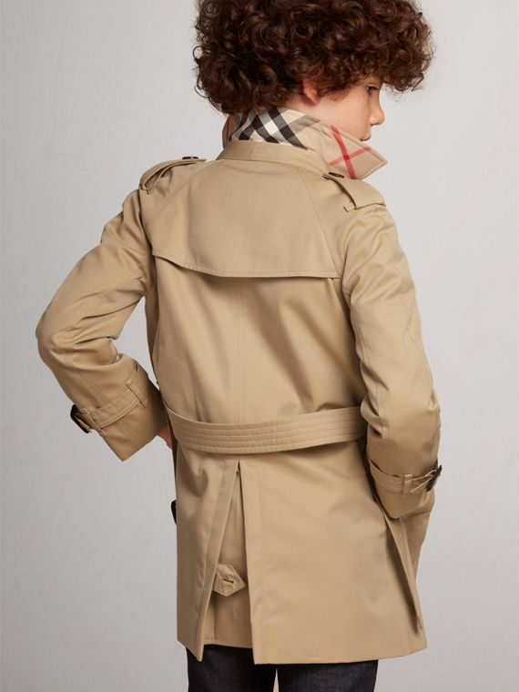 Trench coat Wiltshire – Trench coat Heritage (Miel) - Niño | Burberry - cell image 3