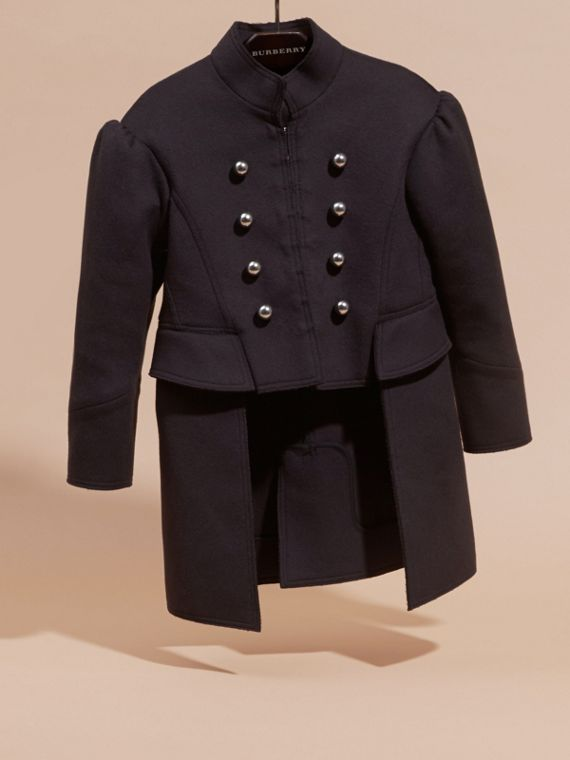 Le mini manteau queue-de-pie militaire - Fille | Burberry - cell image 2