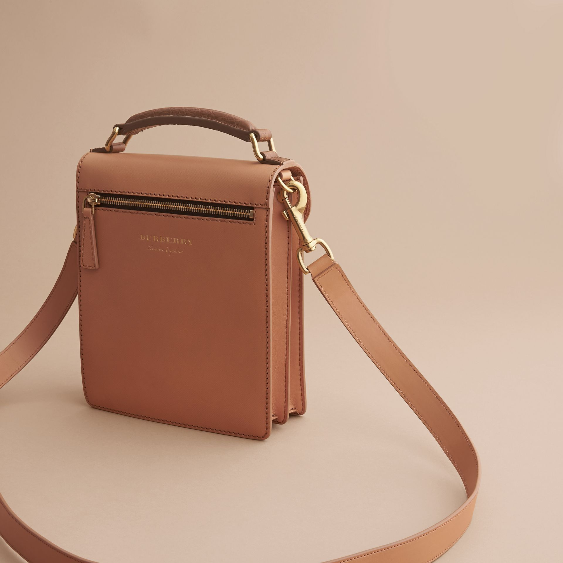 The Small DK88 Satchel with Alligator - gallery image 6