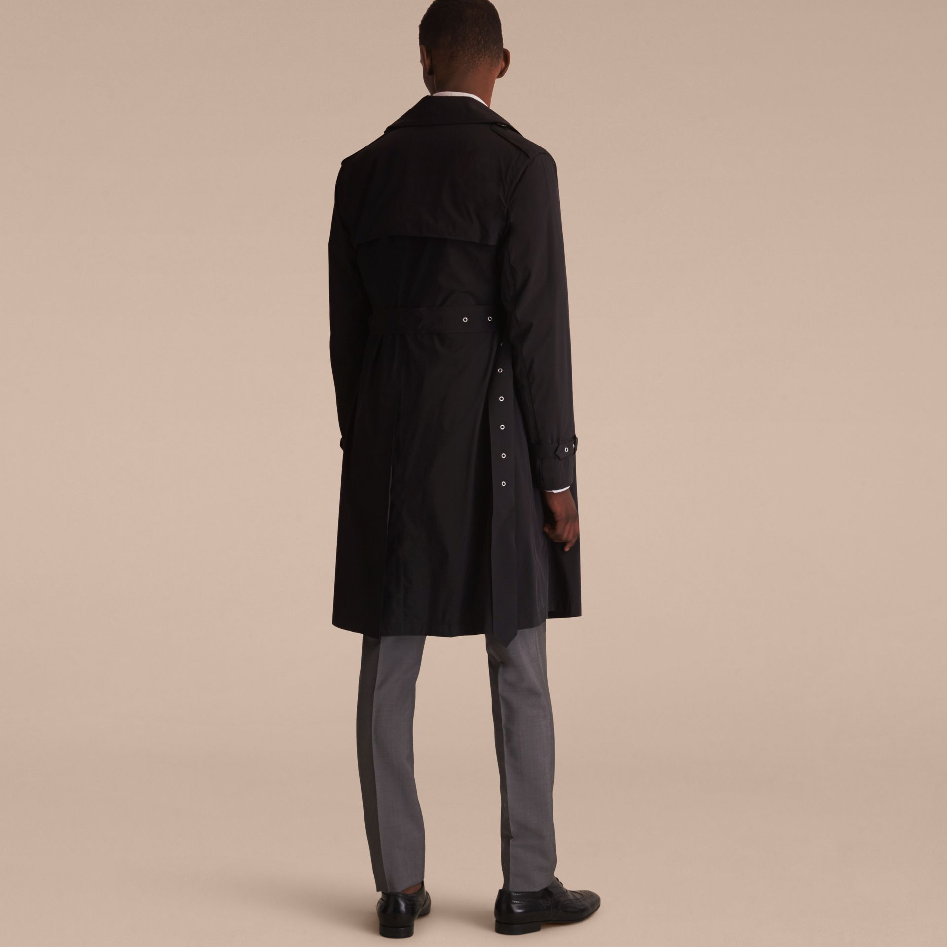 Lightweight Double-breasted Trench Coat - gallery image 3