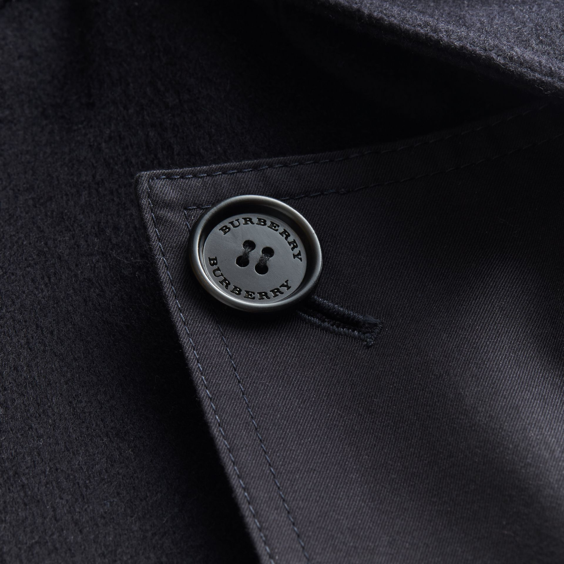 Double-faced Cashmere Workwear Jacket - gallery image 2