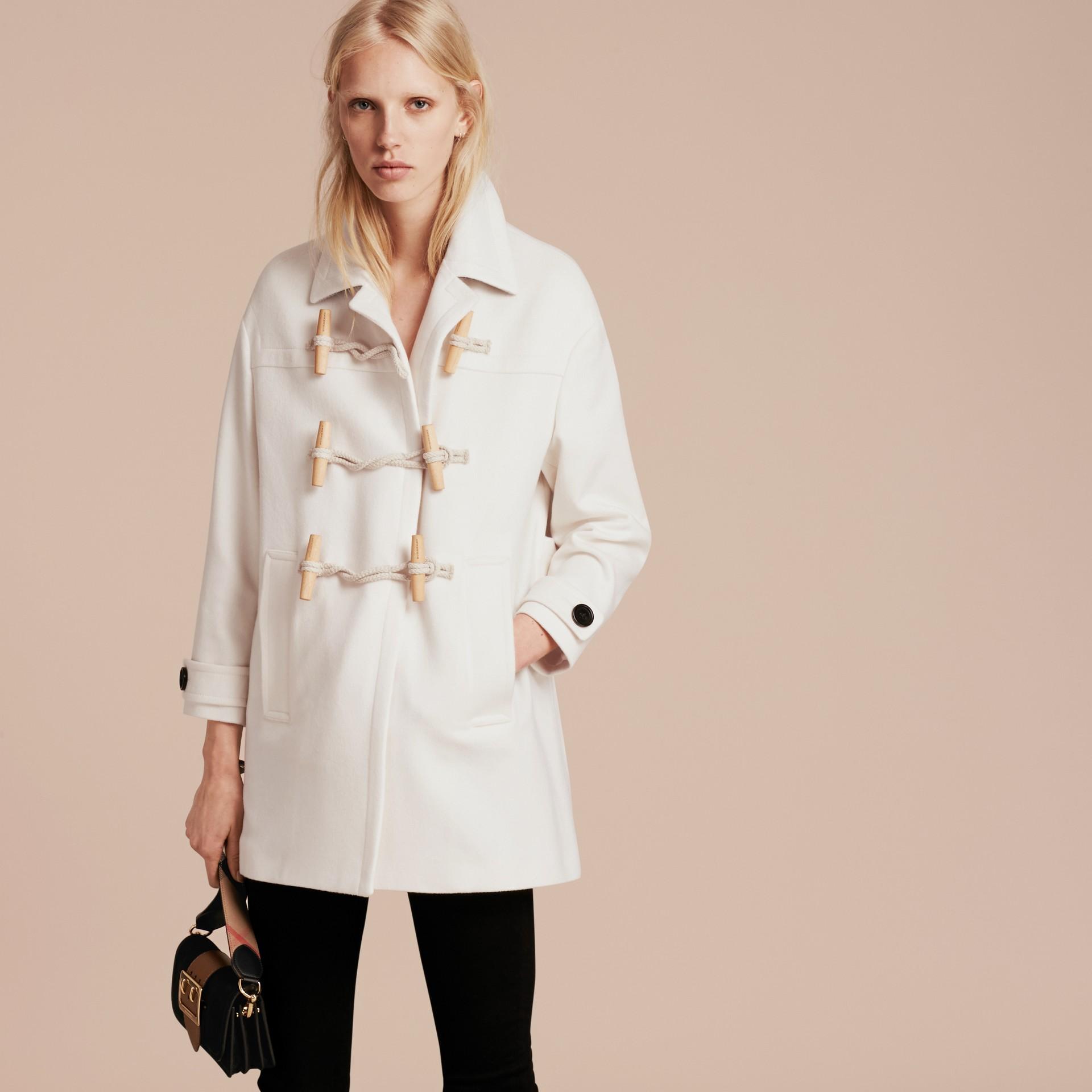 Bianco Montgomery in cashmere Bianco - immagine della galleria 7