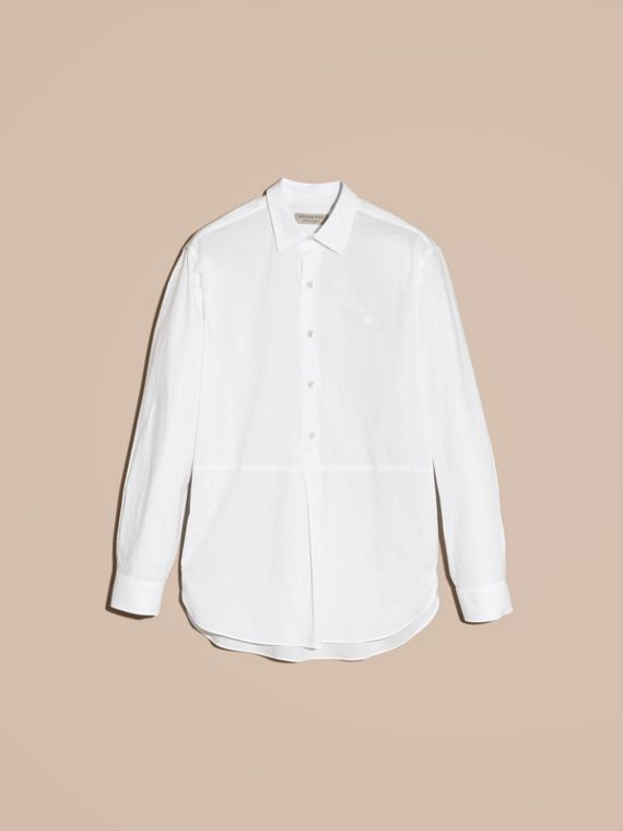 Cotton Poplin Tunic Shirt - cell image 3