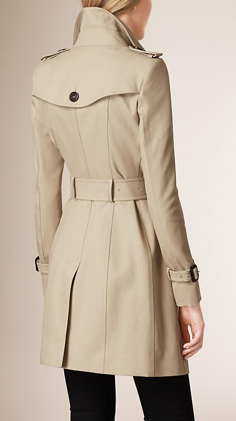 Trench Trench-coat en double sergé de coton - Image 3