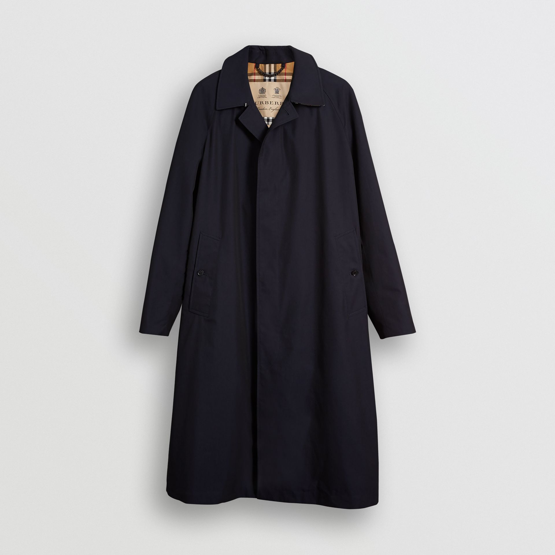 Car Coat The Brighton (Bleu Carbone) - Homme | Burberry - photo de la galerie 3