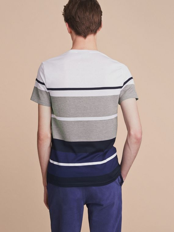 Striped Cotton T-shirt - cell image 2