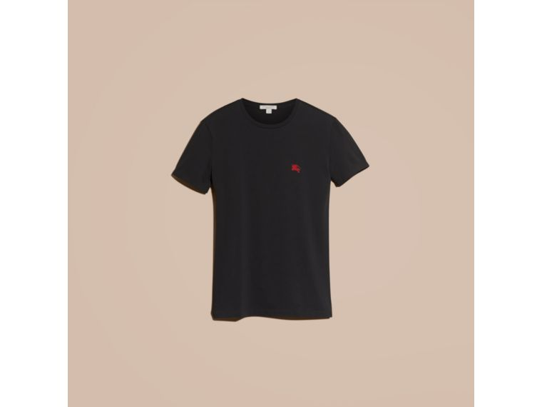 BURBERRY Cottons T-Shirt aus Baumwolljersey