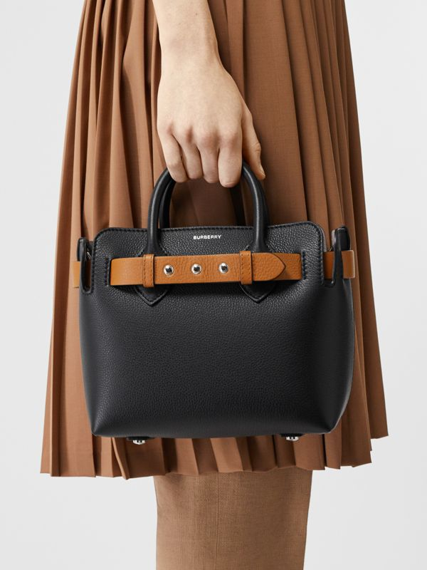 The Mini Leather Triple Stud Belt Bag in Black - Women | Burberry Canada - cell image 2