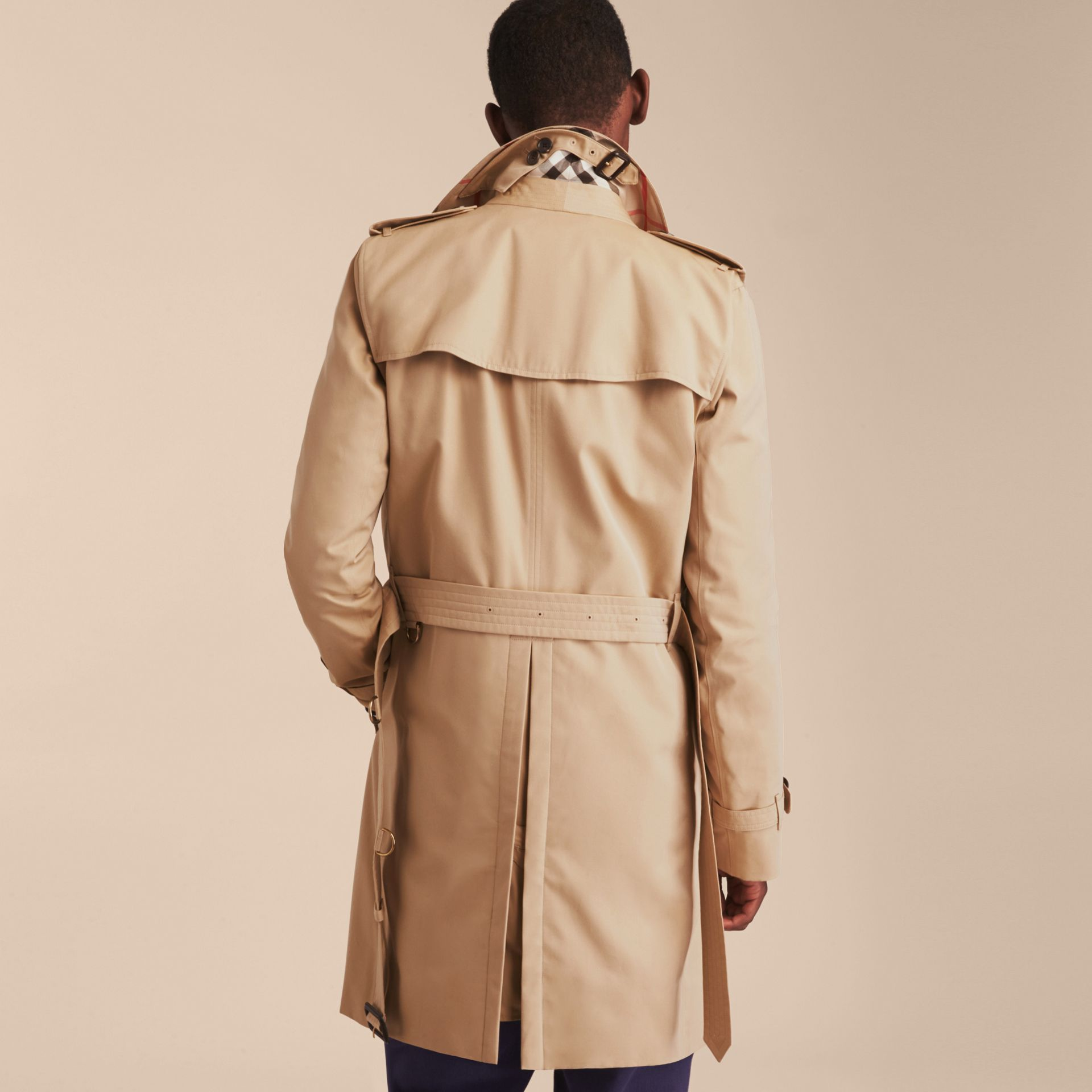 Miel The Kensington – Trench-coat Heritage long Miel - photo de la galerie 4