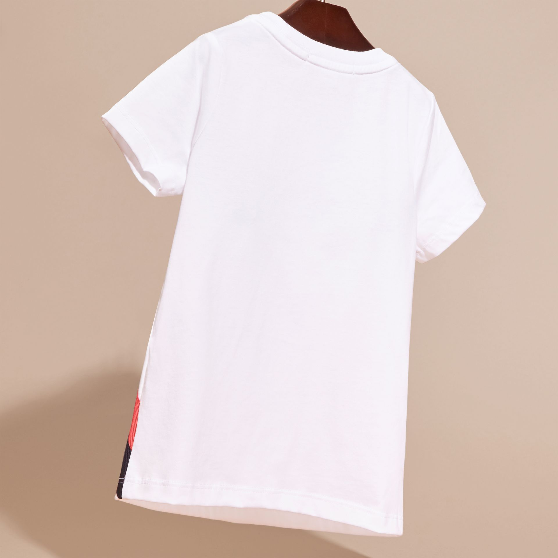 Sequin Appliquéd Weather Graphic Cotton T-Shirt - gallery image 4
