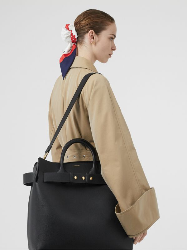 Borsa The Belt grande in pelle con tre borchie (Nero) - Donna | Burberry - cell image 2