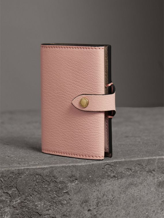 Equestrian Shield Leather Continental Wallet in Pale Ash Rose - Women | Burberry - cell image 2