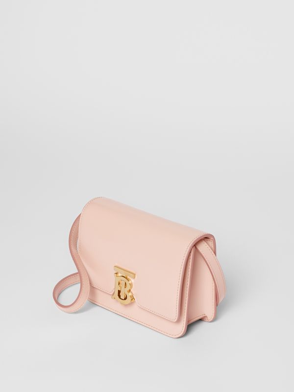Mini Leather TB Bag in Rose Beige - Women | Burberry - cell image 3