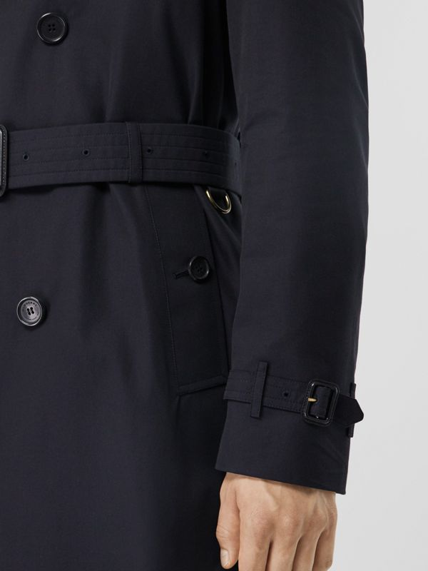 The Chelsea – Long Trench Coat in Navy - Men | Burberry Canada - cell image 3