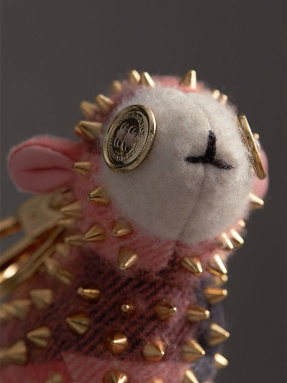 Adorno de cashmere Wendy The Sheep (Coral) | Burberry - cell image 1