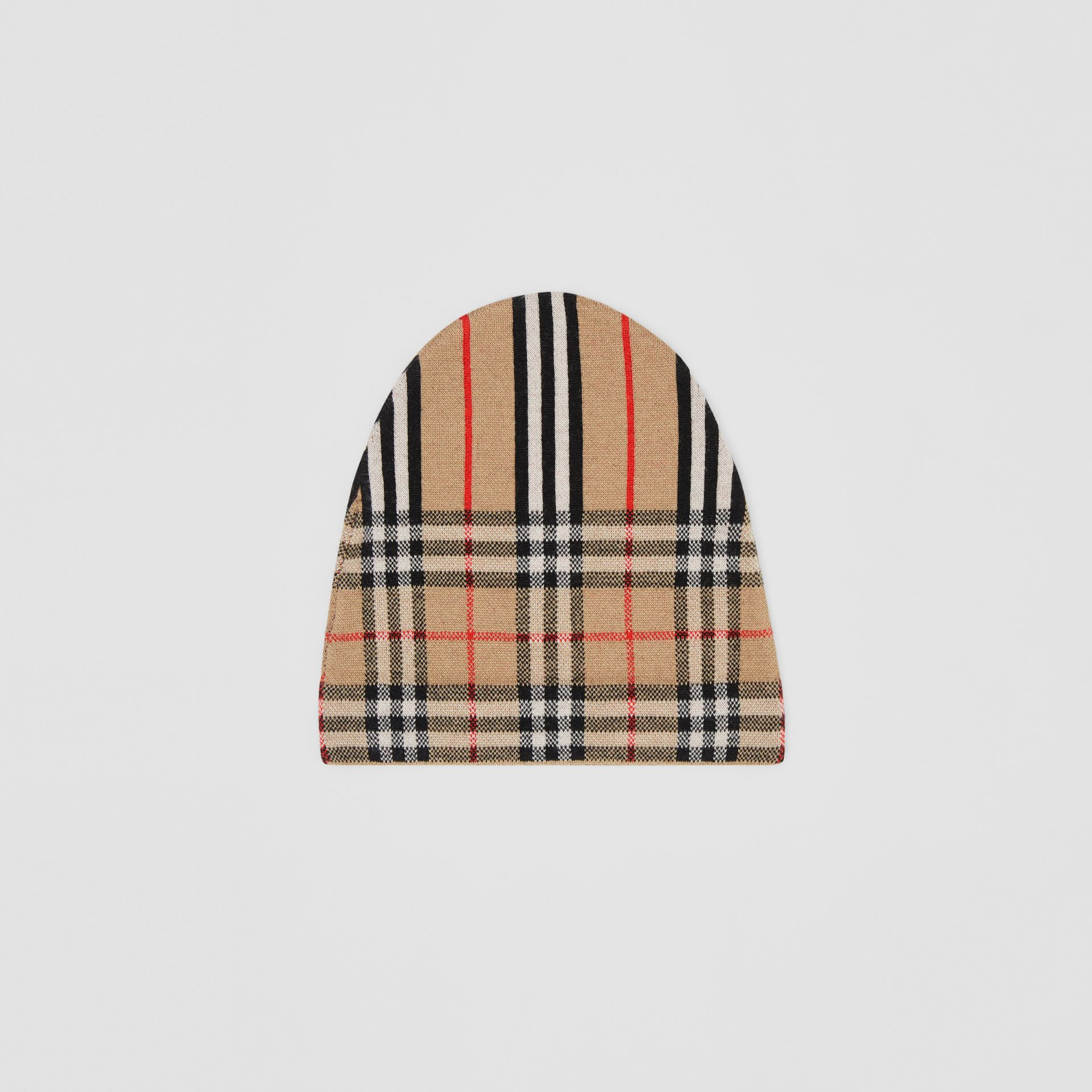 Vintage Check and Icon Stripe Wool Two-piece Gift Set in Archive Beige - Children | Burberry Hong Kong - gallery image 2