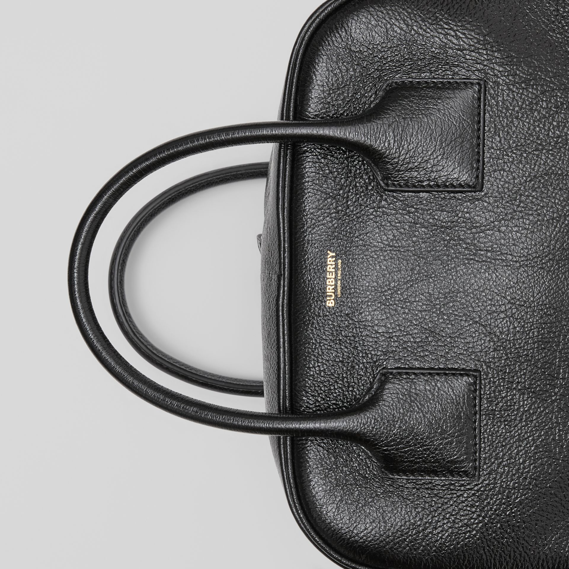 Medium Lambskin Cube Bag in Black - Women | Burberry Canada - gallery image 11