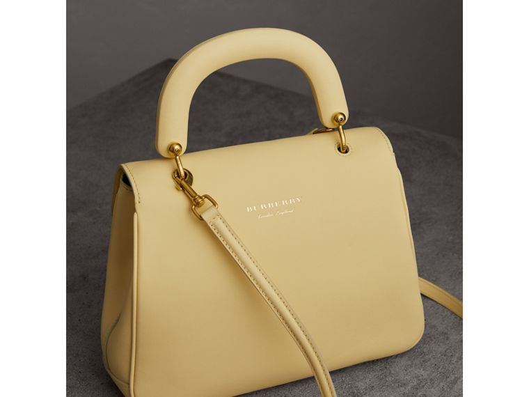 The Medium DK88 Top Handle Bag in Camomile Yellow - Women | Burberry Australia - cell image 4
