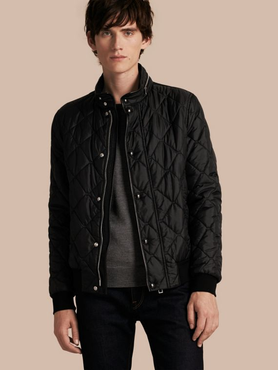 Quilted Packaway Hood Jacket