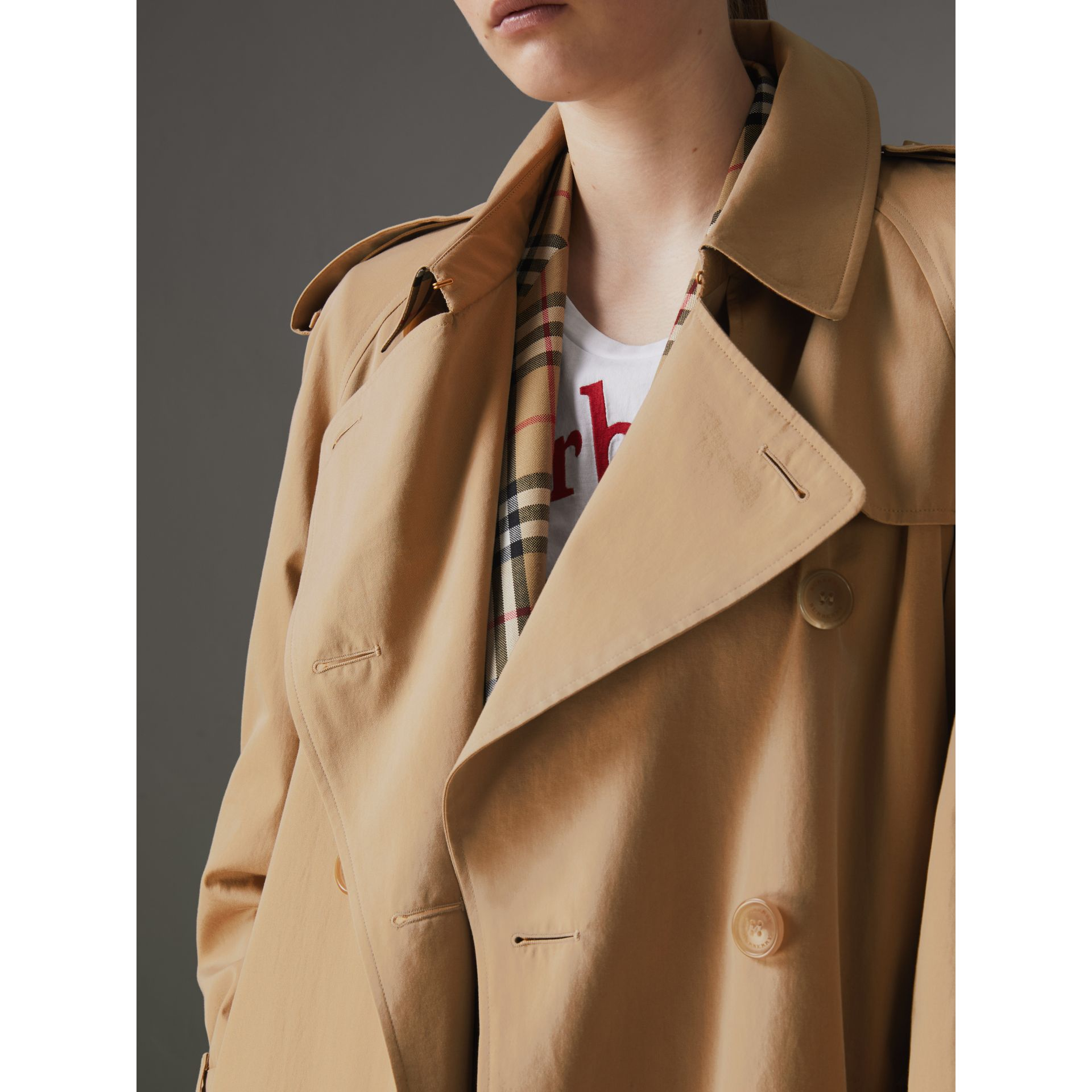 The Westminster – Trench Heritage (Miel) - Femme | Burberry Canada - photo de la galerie 7