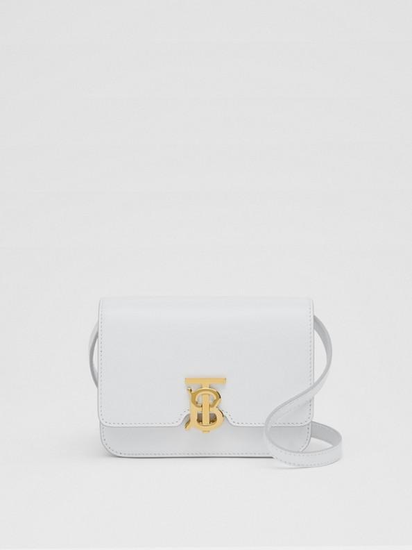 TB Bag im Miniformat aus Leder (Optic-weiß)