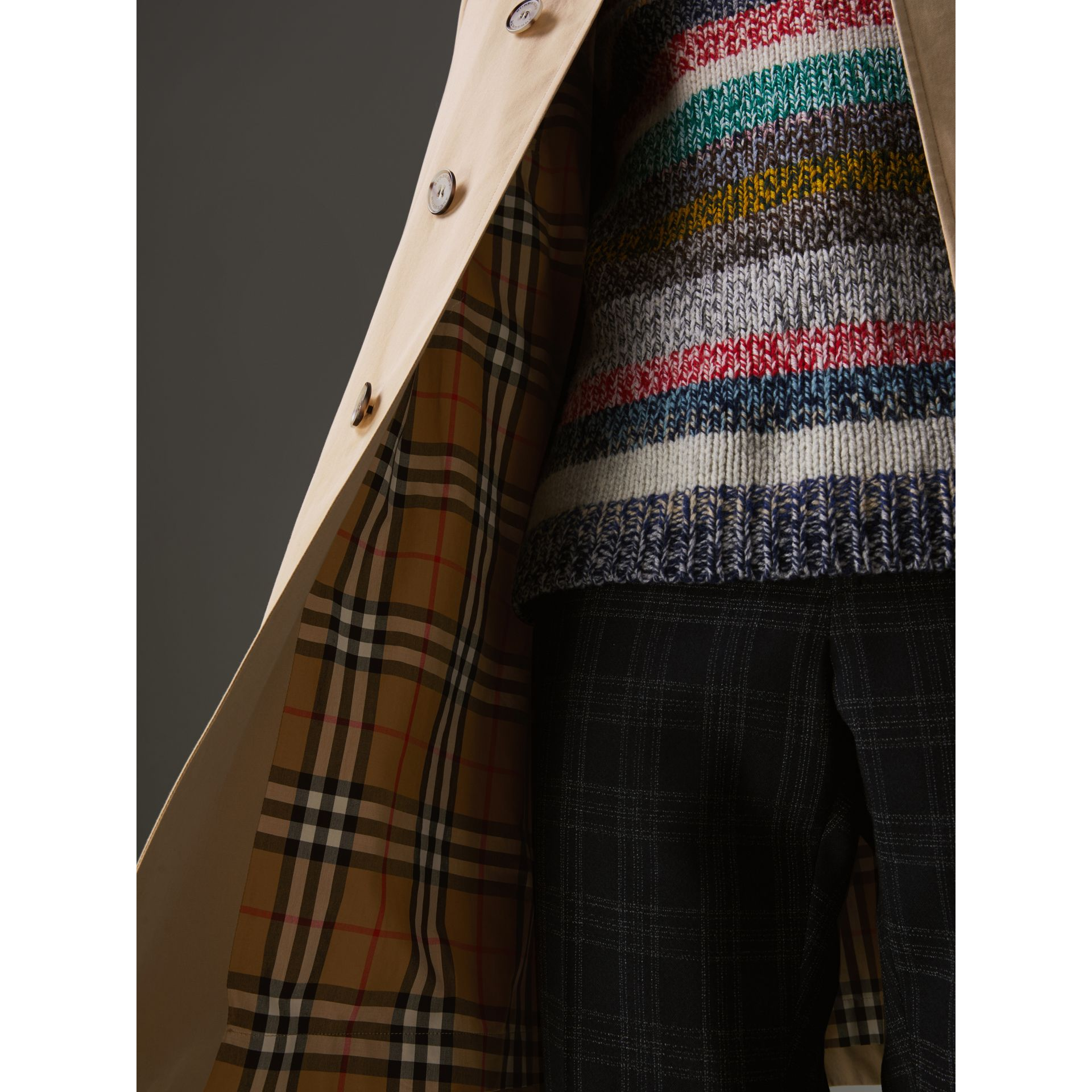 The Camden Car Coat in Honey - Men | Burberry United States - gallery image 1