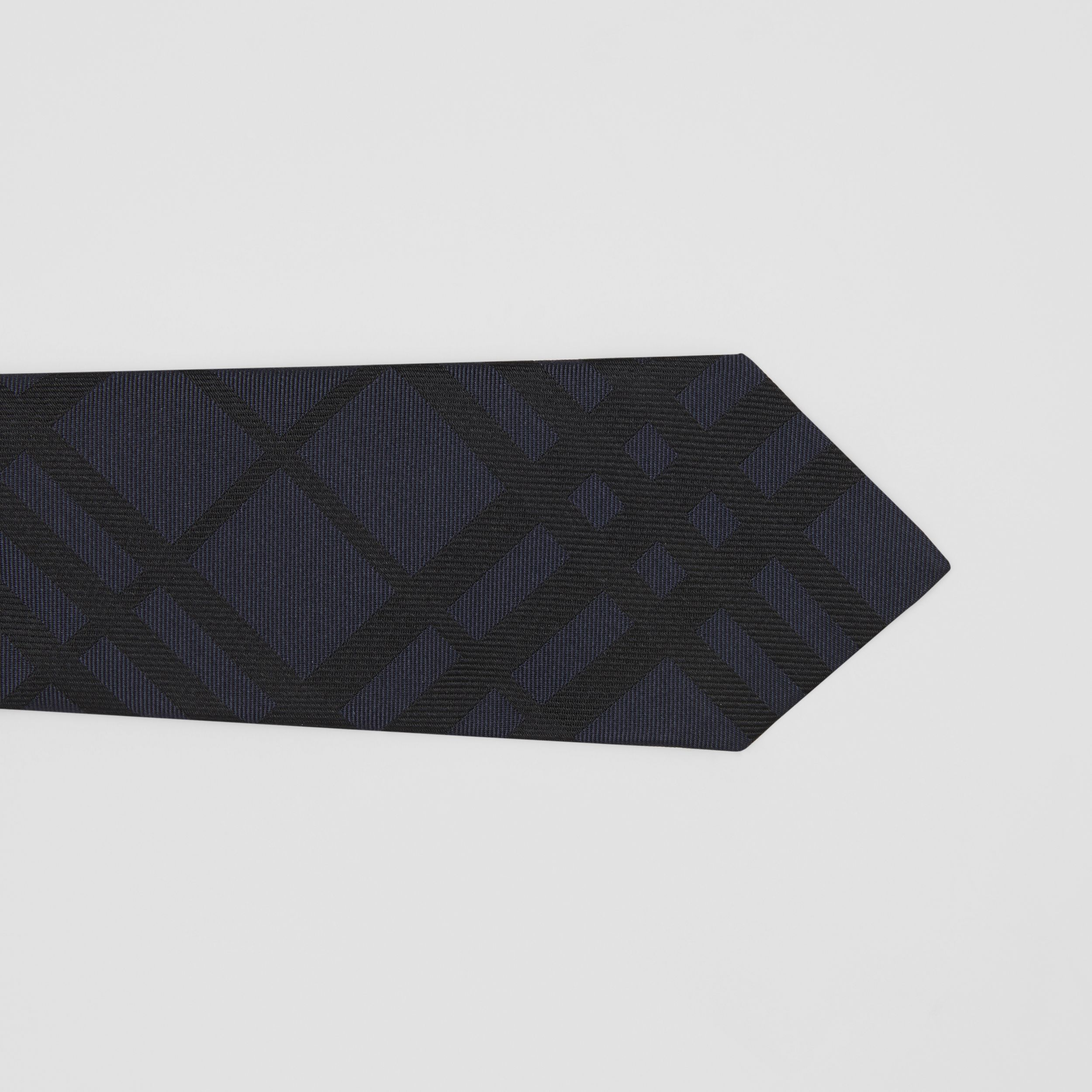 Classic Cut Check Silk Jacquard Tie in Lapis Blue - Men | Burberry Australia - 2