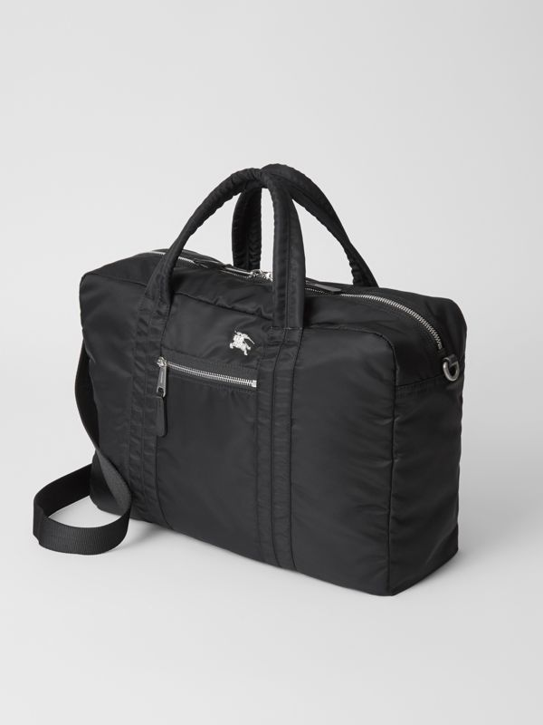 EKD Aviator Nylon and Leather Briefcase in Black - Men | Burberry - cell image 3