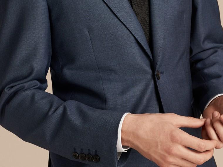 Bleu aérien Costume de coupe moderne en laine Travel Tailoring - cell image 4