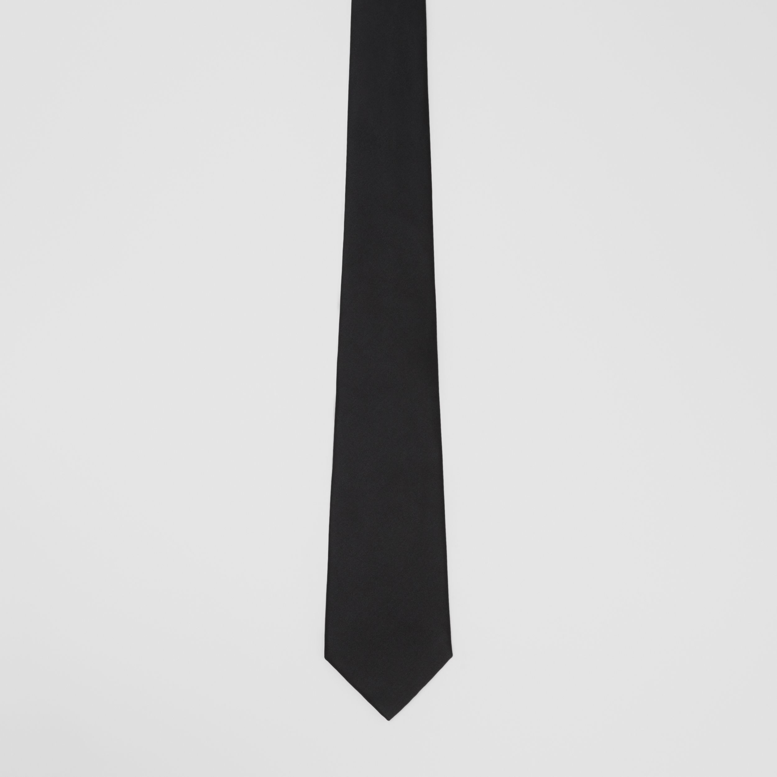 Classic Cut Silk Tie in Black - Men | Burberry Hong Kong S.A.R. - 4