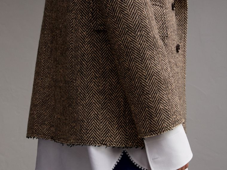 Donegal Herringbone Wool Tweed Blazer - Men | Burberry Hong Kong - cell image 4