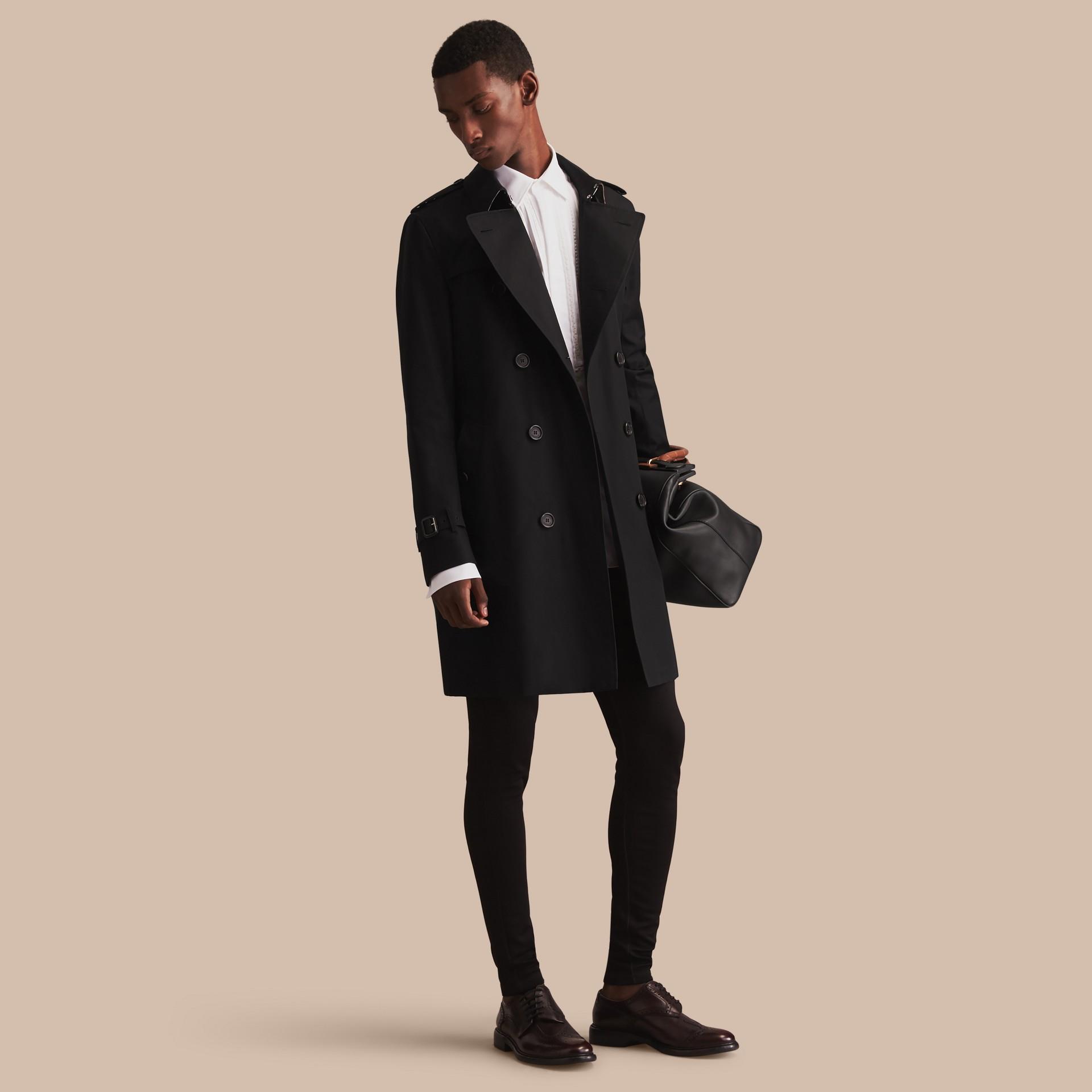 Noir The Sandringham – Trench-coat Heritage long Noir - photo de la galerie 1