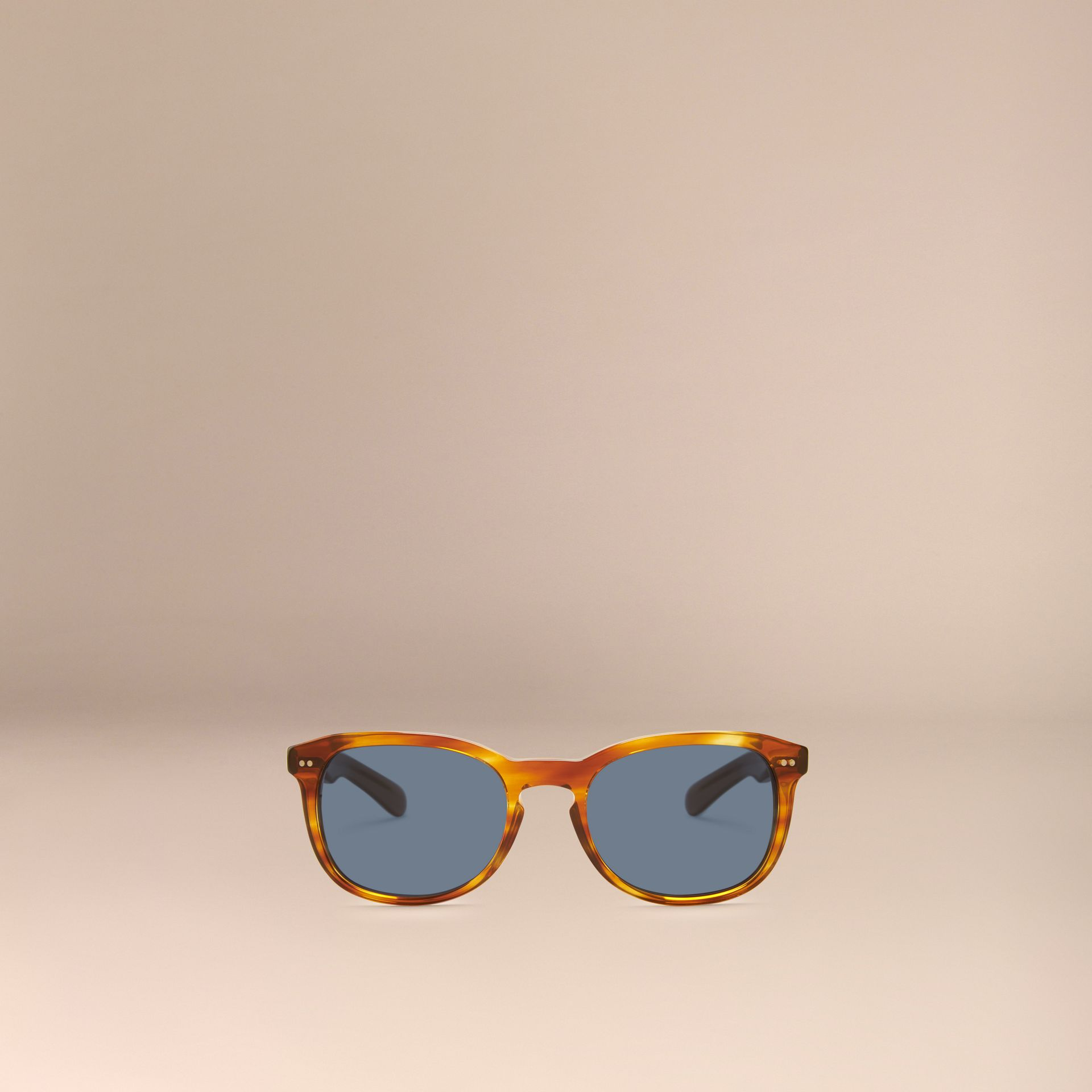 Tortoise amber Square Frame Sunglasses Tortoise Amber - gallery image 3
