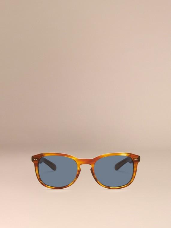 Tortoise amber Square Frame Sunglasses Tortoise Amber - cell image 2