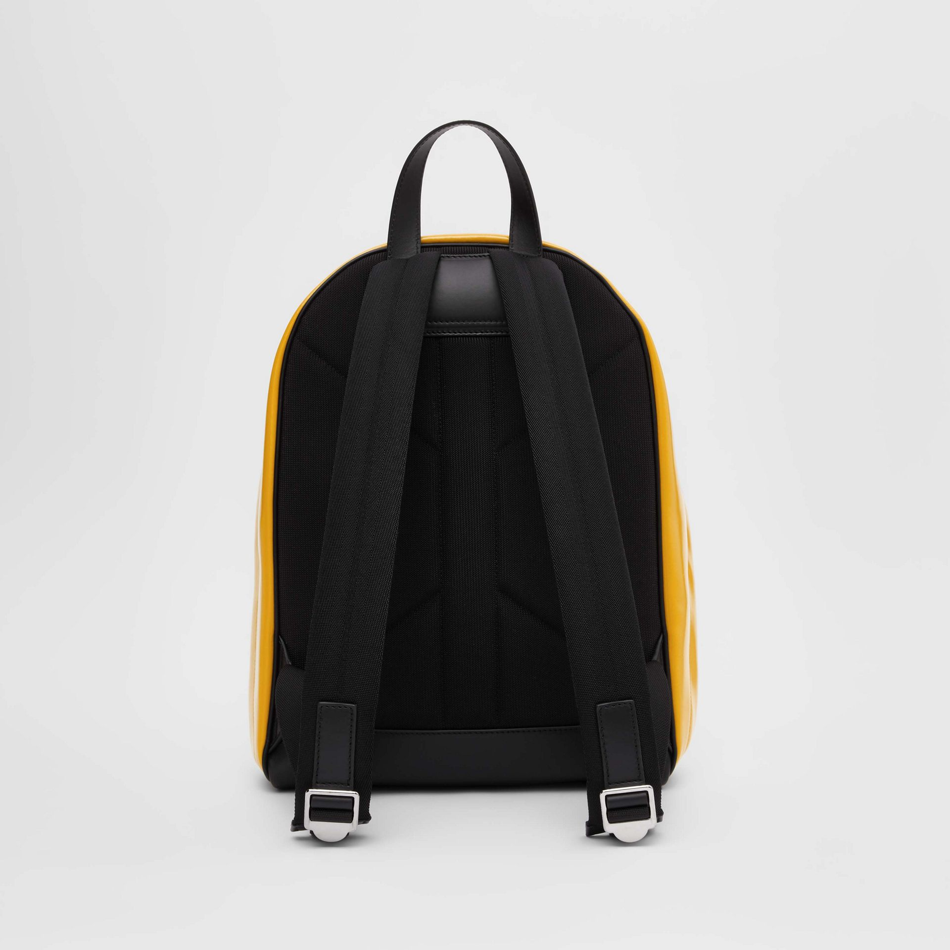 Horseferry Print Coated Canvas Backpack in Yellow | Burberry - gallery image 7