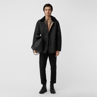 Short Sleeve Check Stretch Cotton Blend Shirt by Burberry