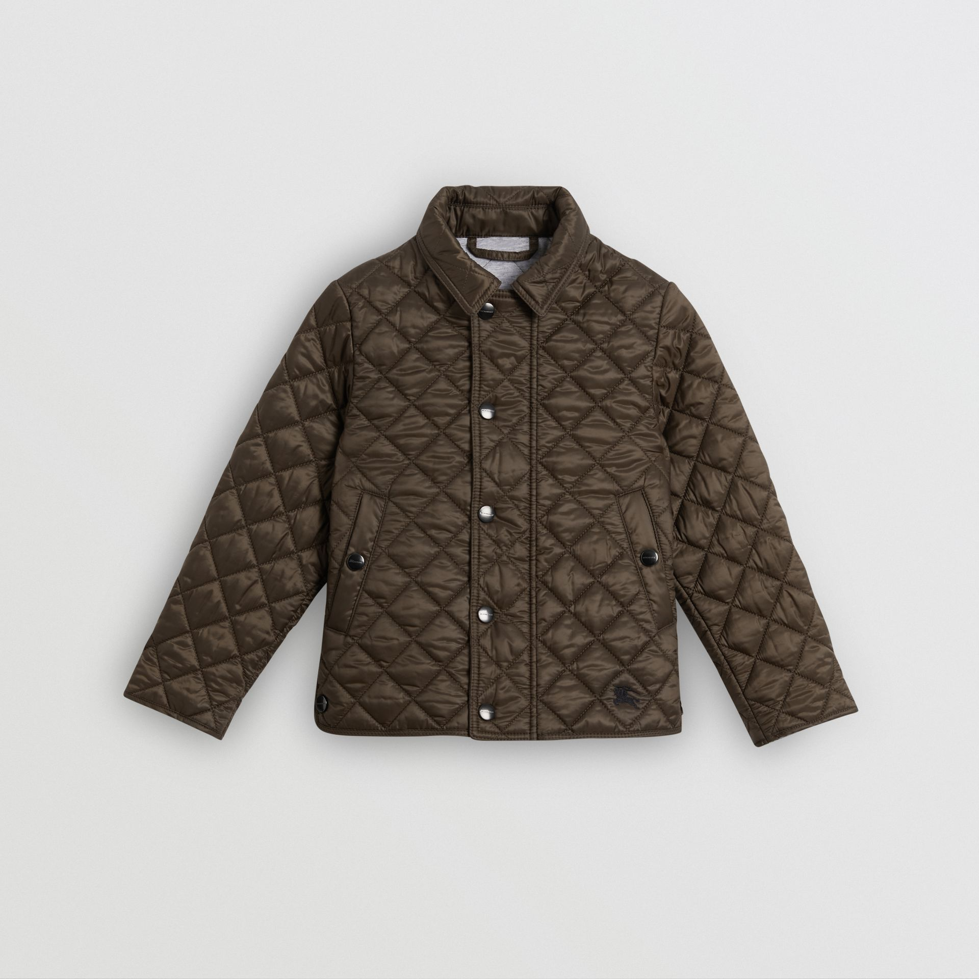 Lightweight Diamond Quilted Jacket in Oregano | Burberry - gallery image 0