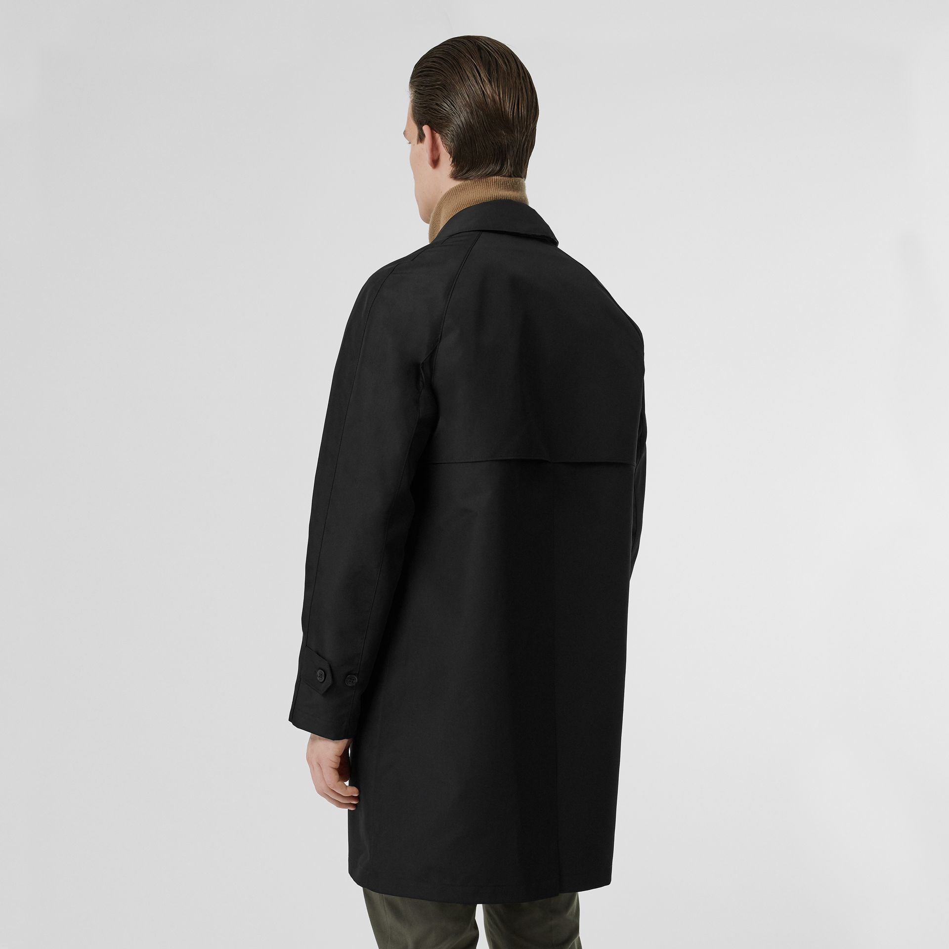 Bonded Car Coat with Warmer in Black - Men | Burberry - gallery image 2