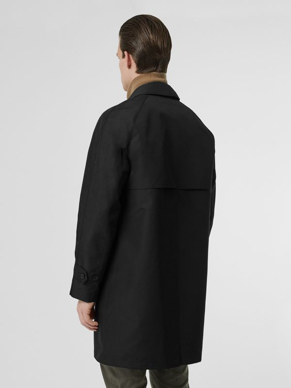 Bonded Car Coat with Warmer in Black - Men | Burberry Australia - cell image 2