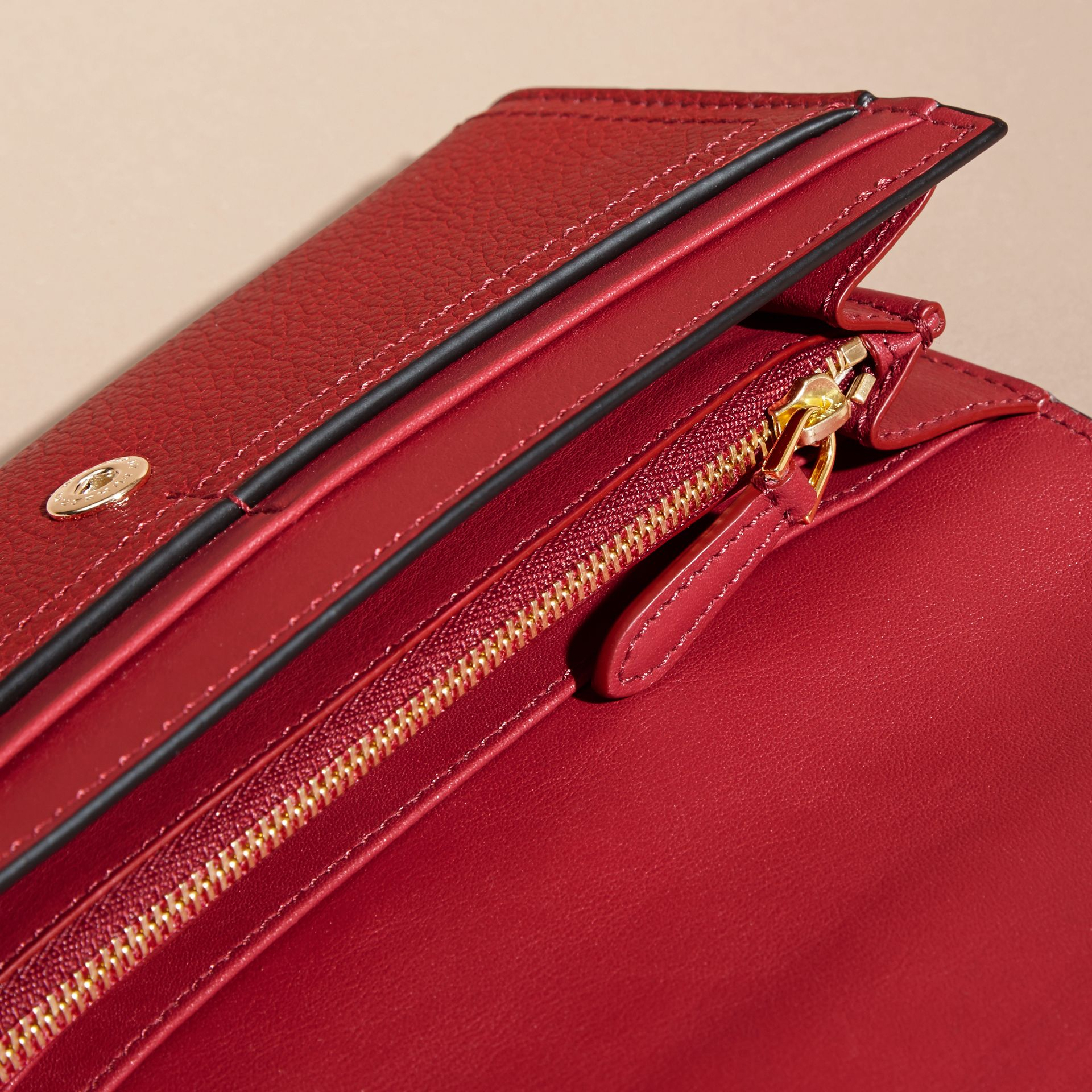 Textured Leather Continental Wallet Parade - gallery image 5