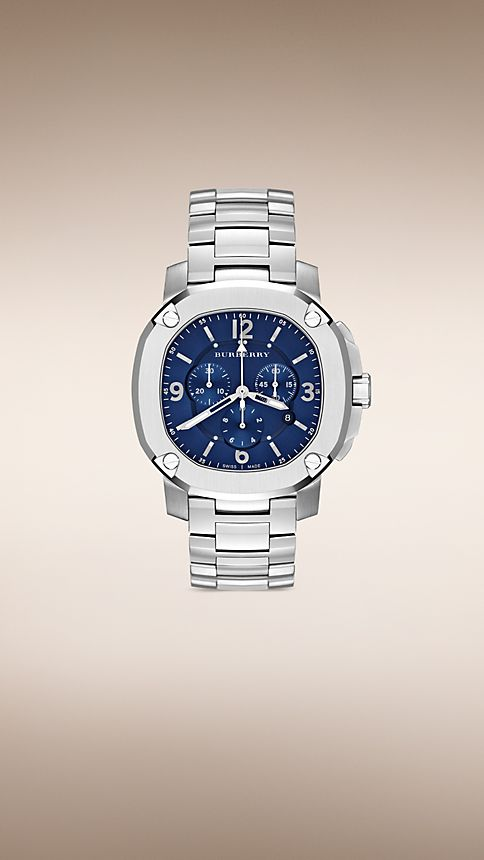 Steel The Britain BBY1104 47mm Chronograph - Image 1