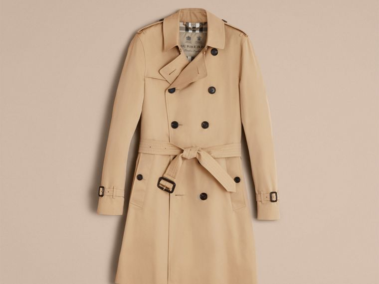 Honey The Sandringham – Long Heritage Trench Coat Honey - cell image 4