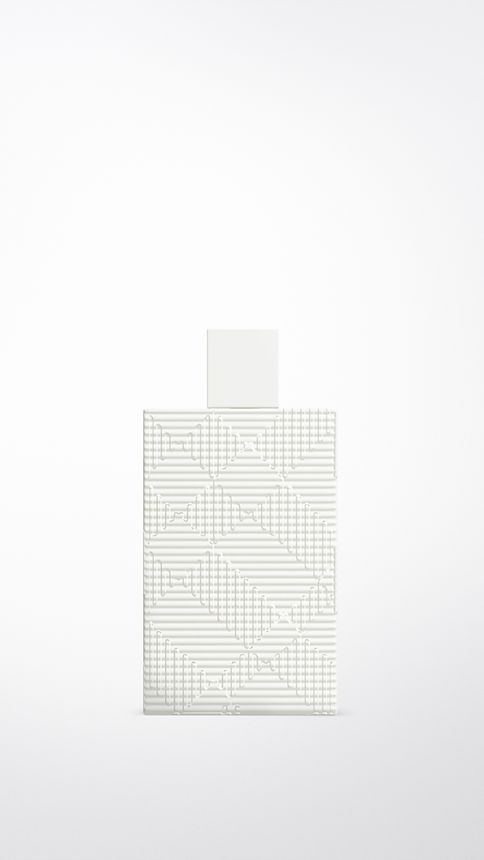 White Burberry Brit Rhythm Body Lotion 150ml - Image 1