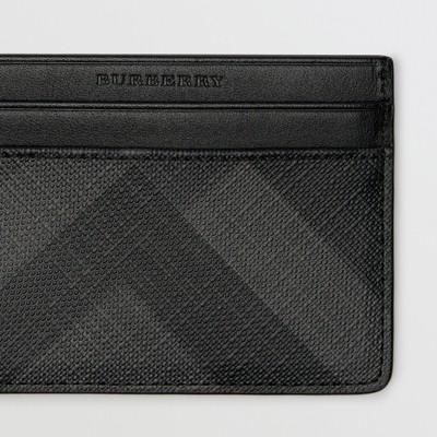 Burberry - Porte-cartes à motif London check - 2