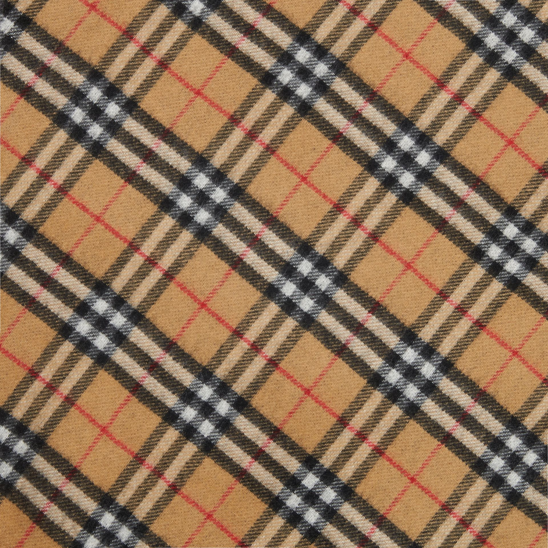 The Burberry Bandana in Vintage Check Cashmere in Blue Carbon | Burberry Hong Kong - gallery image 1