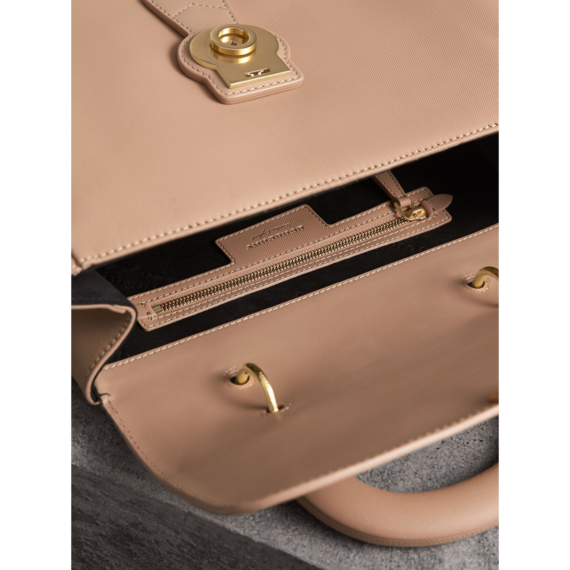 The Large DK88 Top Handle Bag in Honey - Women | Burberry Australia - gallery image 6