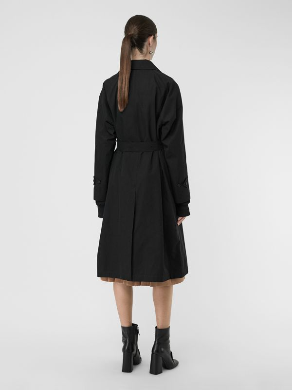 The Brighton Car Coat in Black - Women | Burberry - cell image 2