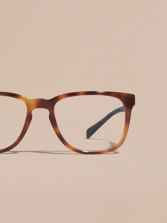 Square Optical Frames in Tortoise Shell - cell image 2